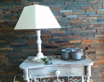 Table lamp brass foot