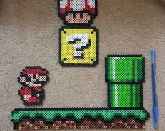 Super Mario Brothers 2d Scene