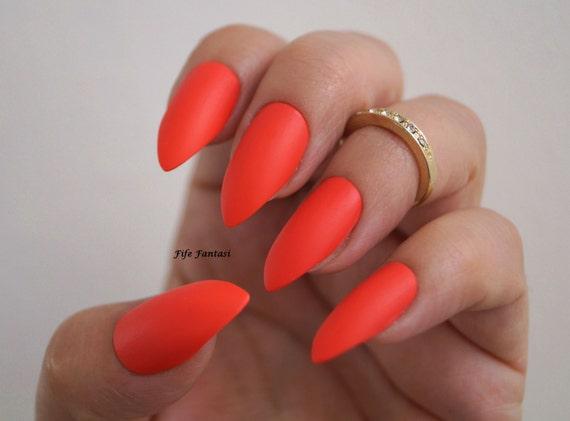 red matte stiletto nails nail art nail designs stiletto