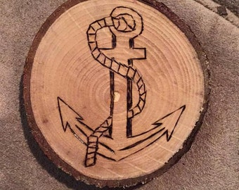 anchor woodburn (can be made into a magnet )