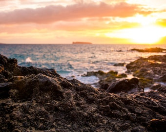 Molokini Crater Sunset