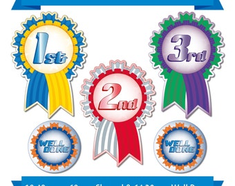 104 x Shape Cut Sports Day Reward Stickers - Schools, Teachers, Award, Childrens