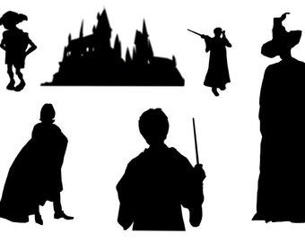 Harry Potter silhouettes