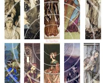 "Digital collage. "" Arthur Rackham """
