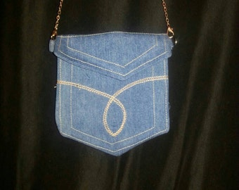 Pocket Clutch w/ Shoulder Strap