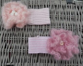 newborn baby flower hairbands