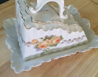 Vintage Cheese Server Made in Germany