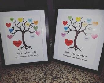 Kindergarten thank you tree