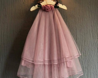 Flower Collar Princess Sundress