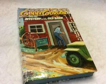 Ginny Gordon Mystery of the Old Barn vintage 1954 Whitman. Free ship