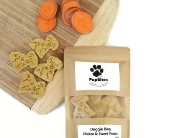 Chicken & Sweet Potato Doggie Bag 100g