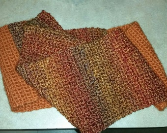 Infinity scarf in Fall colors