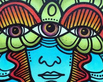 Graffiti Psychodelic