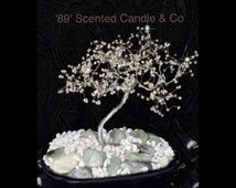 Rhinestone Bling Bonsai Tree Unique Stunning piece of Art now available to purchase