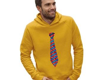 Men's No.1 Dad Tie Hoodie