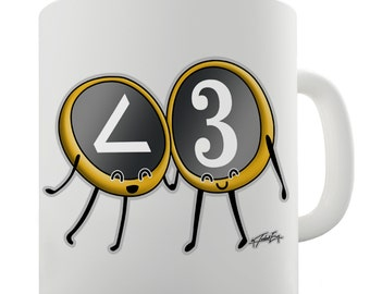 Less Than Three Ceramic Mug