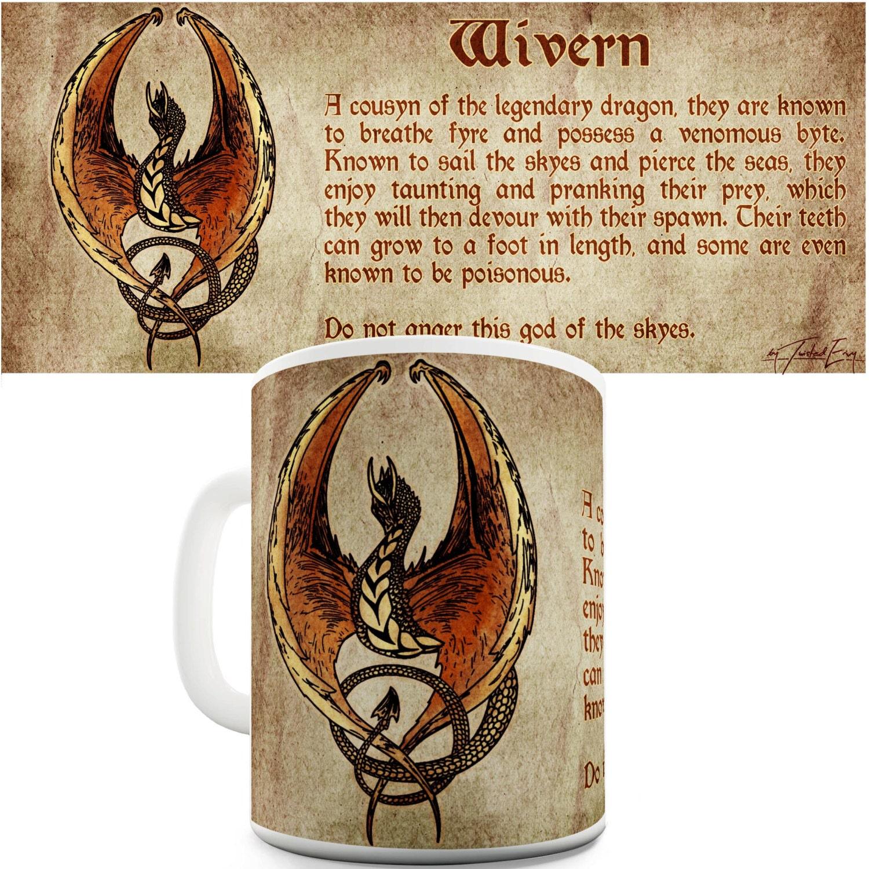 Dragon Definition: Definition Of A Wyvern Dragon Ceramic Mug