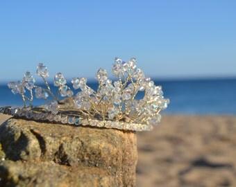 Wedding Tiara - Swarovski Crystals