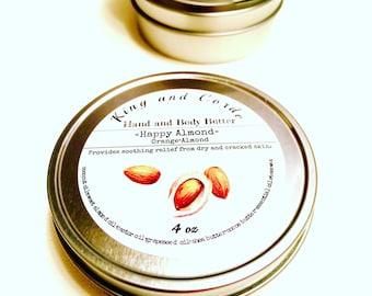 Happy almond body butter