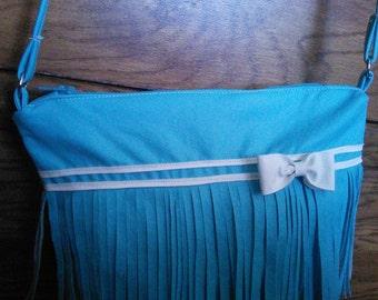 Fringe Cross-body Bag