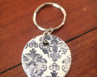 Handmade essential oil keyring pendants