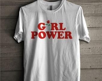 """Shop """"girl power shirt"""" in Women's Clothing"""