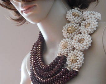 Brown and Beige color Beads
