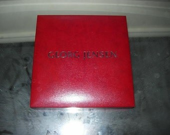 georg jensen necklace box
