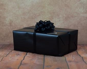 Premium Collection Gift Wrap Kit - Black
