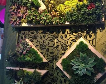 Wall decor slik flowers arrangement