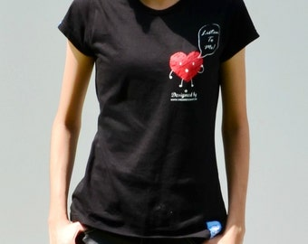 Listen to Your Heart Tee (Lady)