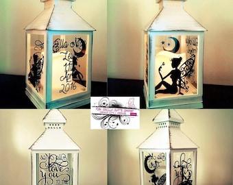 LED Candle Lanterns Personalised