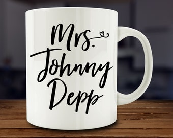 Mrs. Johnny Depp Mug (A254)