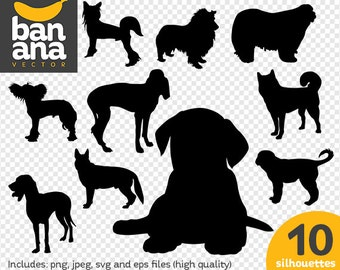 SALE Dogs 3 png jpg svg eps files high resolution BV-AN-0023