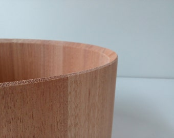 """Stave Snare Shell – Afzelia 14""""X6"""""""