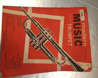 Modern Music for the Trumpet...sheet music