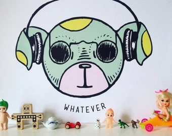 Whatever Cool Dog Poster 16x20