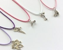 Childrens jewelery , disney , tinkerbell , cinderella coach , mickey mouse  necklace , party favours , cute jewellery , unicorn necklace