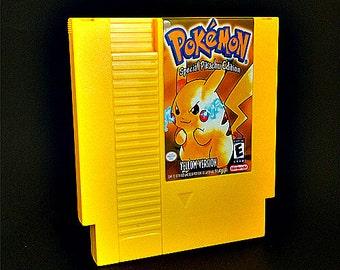 Pokemon Yellow NES System Nintendo Entertainment System Reproduction