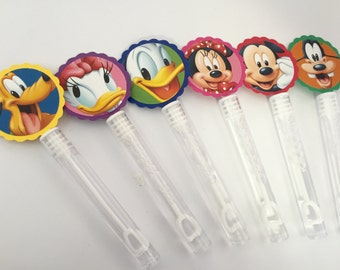Mickey Mouse Clubhouse Friends Bubble Birthday Class Party Loot Bag Favors