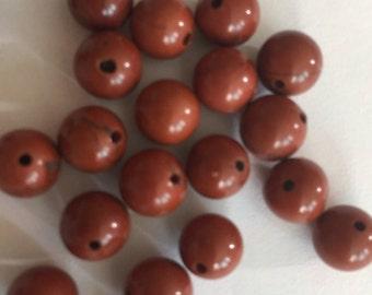 8mm Jasper Beads (20 beads)