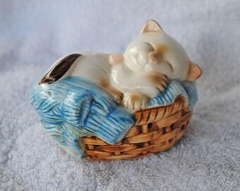Avon Sleeping Kitty Potpourri