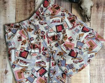 Vintage Route 66 Shorts
