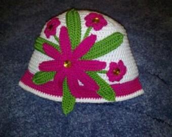 Детская шапочка  Baby Beanie crochet