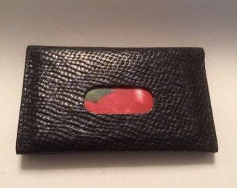 Maps, business card holder, black