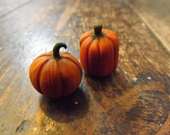 Polymer Clay Miniature Pumpkins