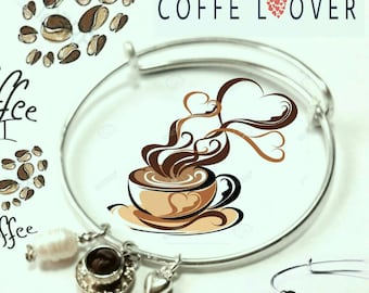 Coffee Lover Bracelet