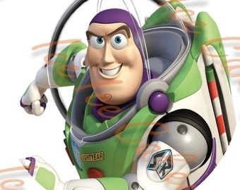 Buzz Lightyear, Toy Story - Round Topper