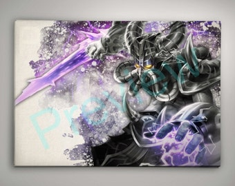 League of Legends Kassadin Print Buy ANY 2 get 3rd FREE League of Legends Wall Decor