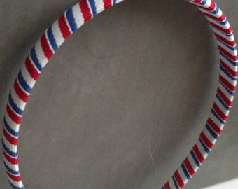Red, white, and blue Headband